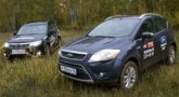 Subaru Forester и Ford Kuga